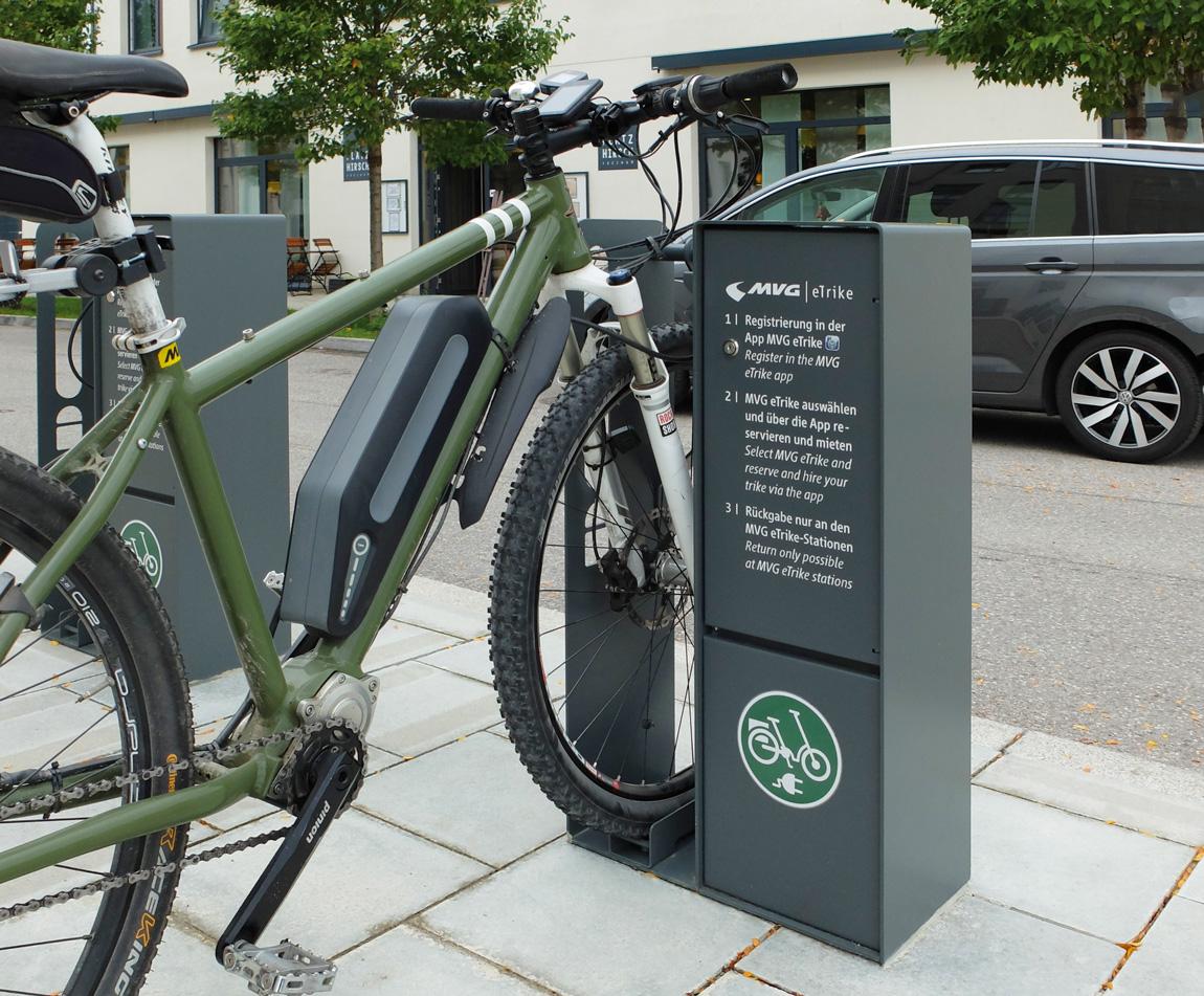 Beispiele für Fahrradparksysteme   ZIEGLER METALL